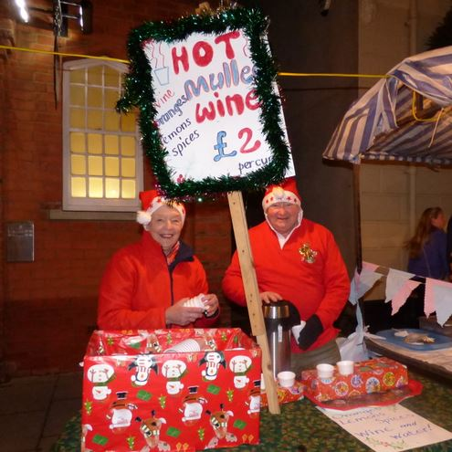 Marshall's Mulled Wine for Mayor's Charity