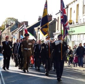 Hedon Remembrance Sunday 2013