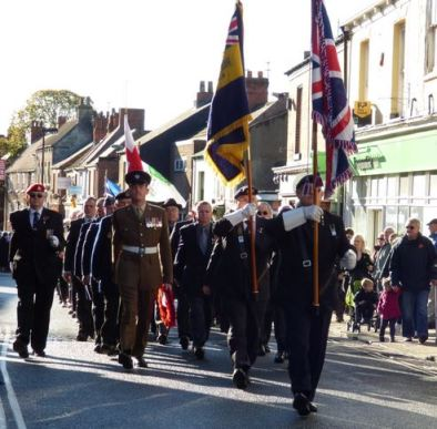 Royal British Legion veterans Remembrance 2013