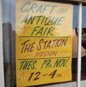 Antiques, Collectors and Crafts Fair, Tues 19th November 2013