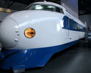 Japanese Bullet Train at York
