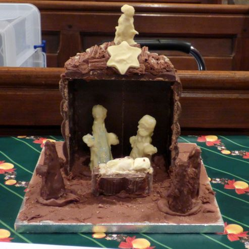 Saturday 14th December - A Chocolate Nativity! How perfect for an Advent Calendar!