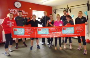 "Look out for the ""Fitness Charity Challenge"""