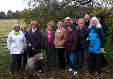 Margaret Murray and other Wychcroft campaigners in 2013
