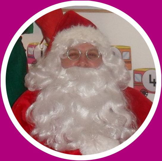 Santa at the Hut