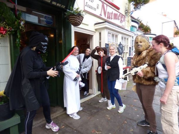 Star Wars at Nutmegs