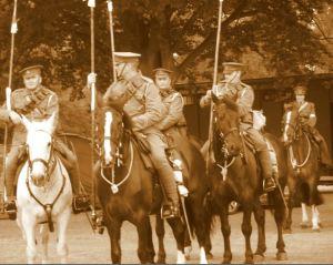 Great War re-enactment Veterans Weekend