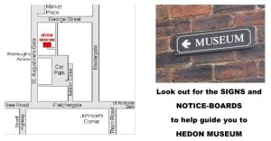 Hedon Museum - Find us