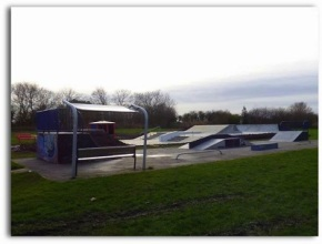 New skate park extension in Hedon