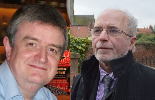 Elected Thursday 6th February - Colin Billany and Terry West