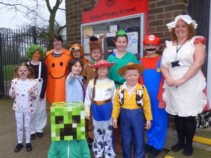 Hedon Primary World Book Day 2014