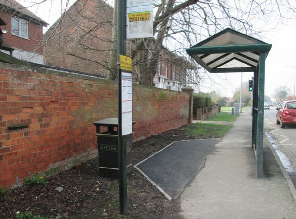 Bus stop improvements