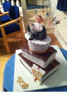 Bob's retirement cake