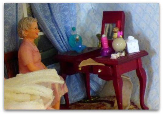 dolls house scene