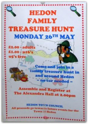 Family Treasure Hunt in Hedon – May 2014