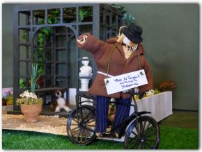 Open Gardens and Scarecrows – in miniature!