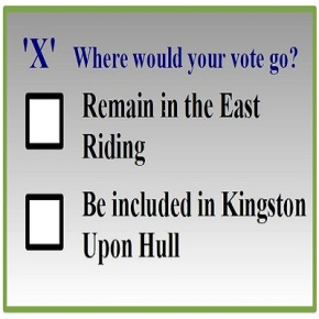 East Riding or Kingston Upon Hull? Poll