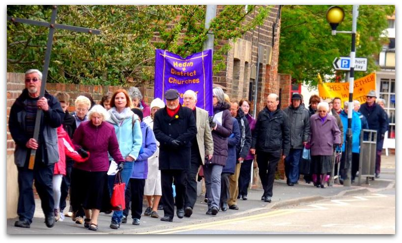 Walk of Witness 2014