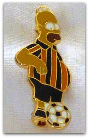 Tigers supporter Homer Simpson