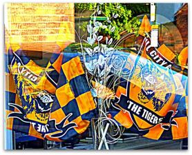 Tigers display at Independence