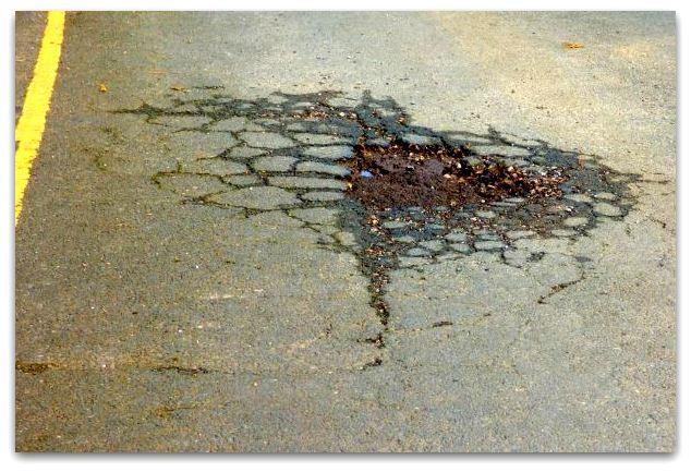 Hedon pothole