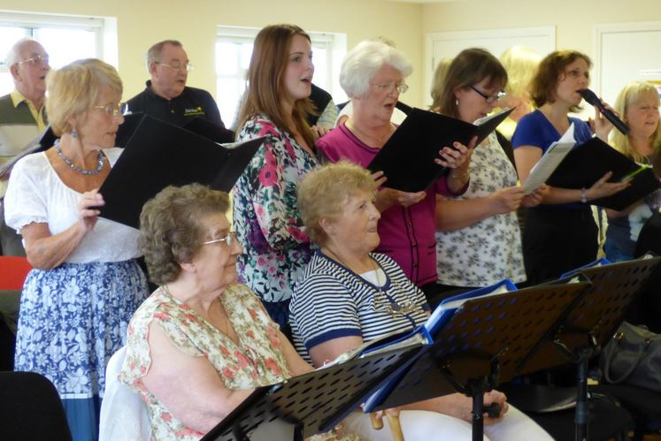 Holderness Grange Choir members
