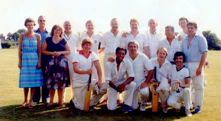 Keith Tindall benefit cricket match002