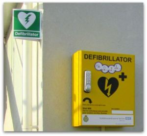 Defibrillator in Paull similar to the one to be located in Hedon
