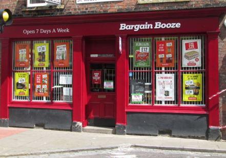 Bargain Booze facelift July 2014