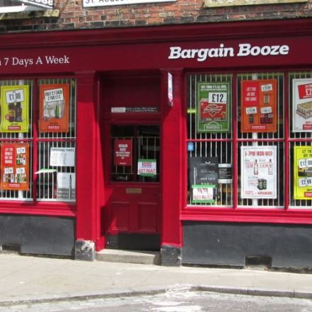 Bargain Booze facelift July 2014