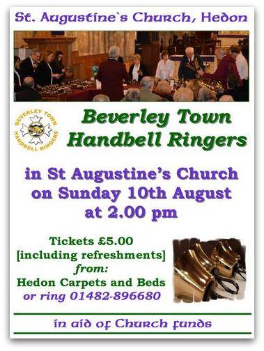 Beverley Town Handbell Ringers Poster