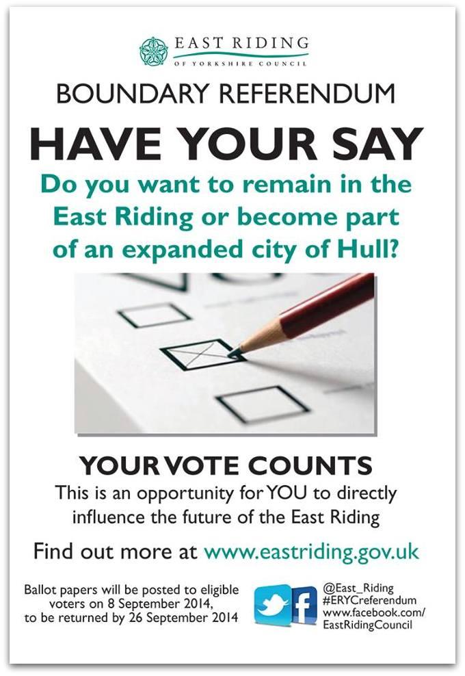 Boundary Referendum Poster