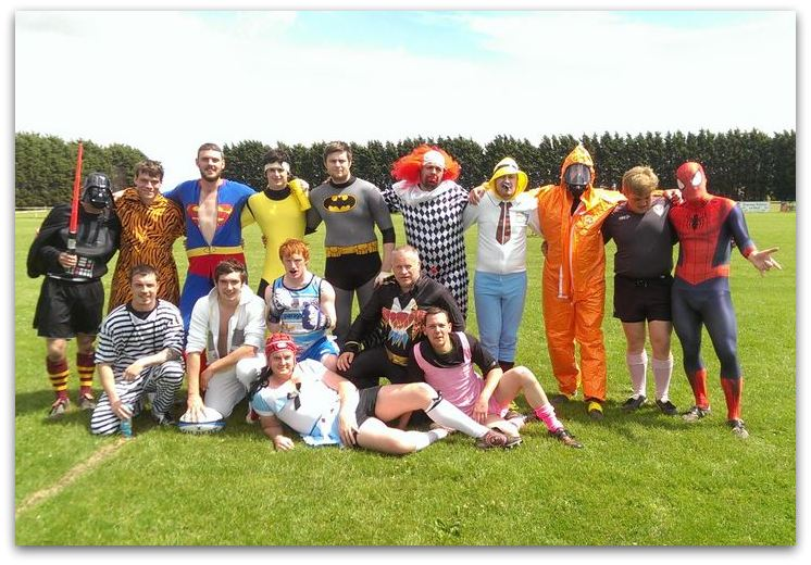 BP RUFC Fancy Dress 2014