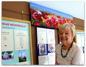 Exhibition Manager Julie Marshall