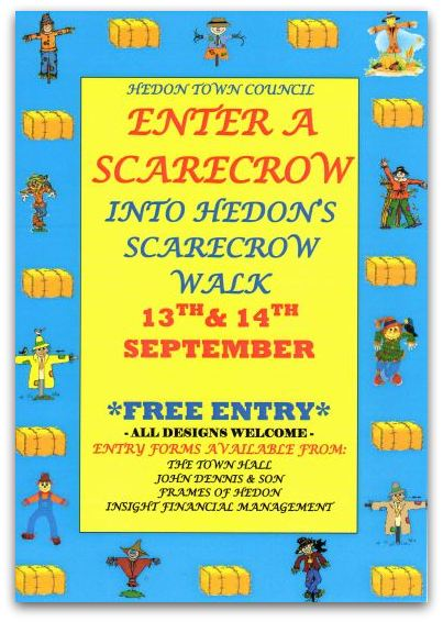 Hedon Scarecrow Poster
