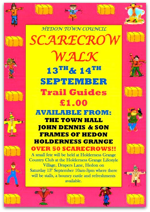 Scarecrow Walk Trail Guide Advert