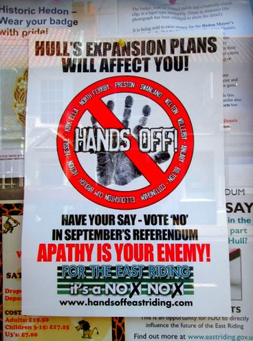 Hands Off poster