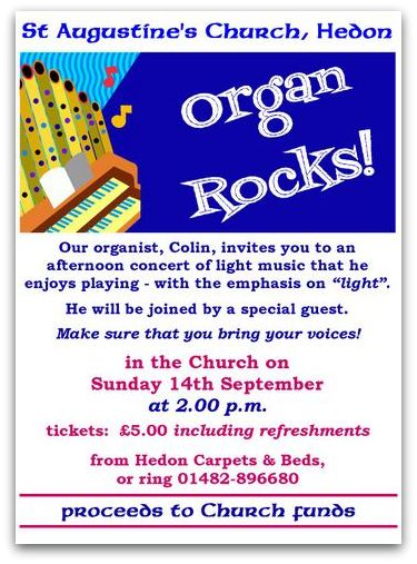 Organ Rocks Poster