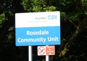 Rosedale Community Unit sign