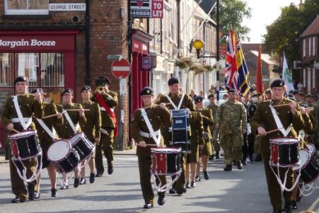 Cadets Civic Parade Market Place