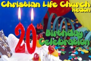 Christian Life Church birthday