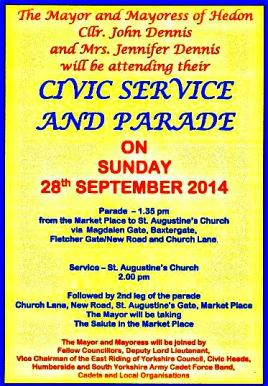 Civic Sunday Poster 2014