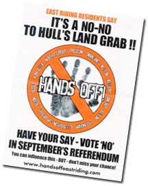 Hands Off Poster A5001