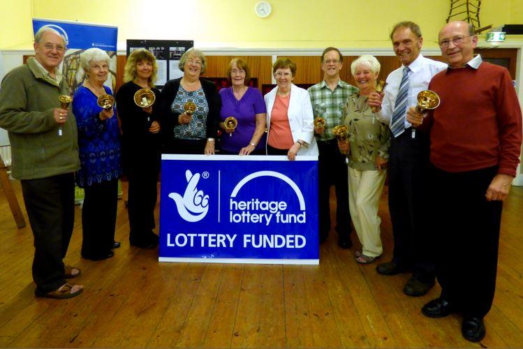 Hedon Bell Ringers Lottery success