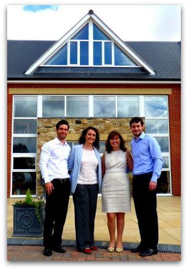 Laurence, Elizabeth, Evonne and Jonathan