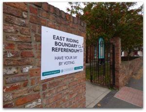 Referendum notice Customer Service Centre
