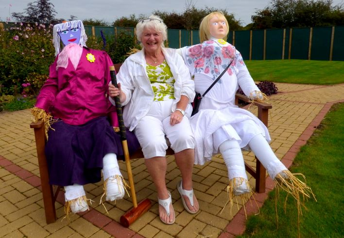 Val Swales scarecrows Holderness Grange