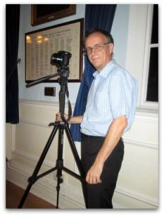 Ray Duffill - cameraman