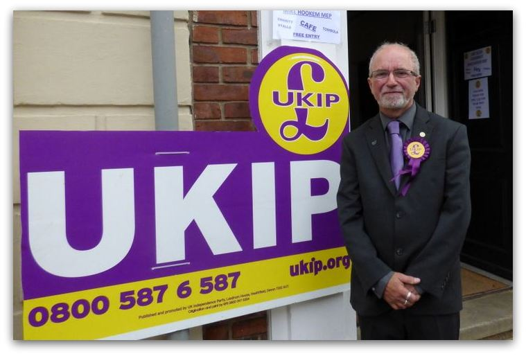 Terry West UKIP candidate for SW Holderness