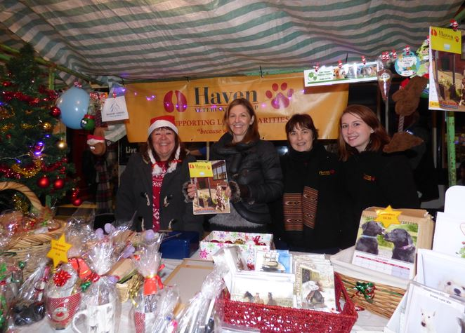 Haven Vets Christmas Stall 2014
